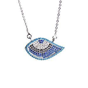 Jewelry - Pave evil Eye necklace